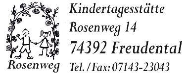 Logo Kindertagesstätte Rosenweg