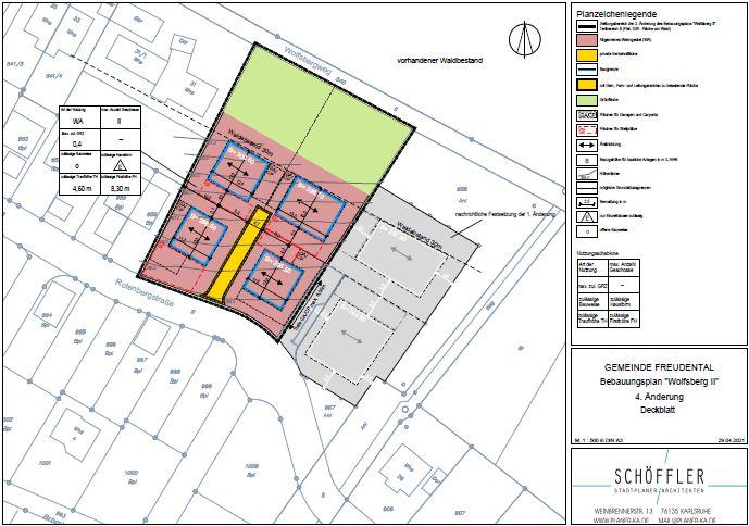 Bild zu Bebauungsplan Wolfsberg II - 4. Änderung