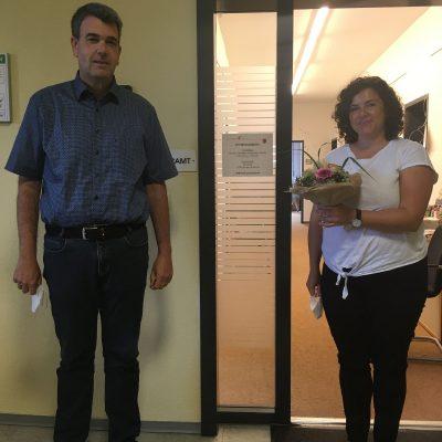 Neue Mitarbeiterin für das Bürgerbüro