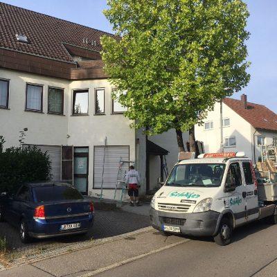 """Sanierung des Gebäudes """"Gartenstraße 1/1"""""""