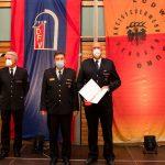 Ehrung von Feuerwehrkommandant Alexander Weidhaus